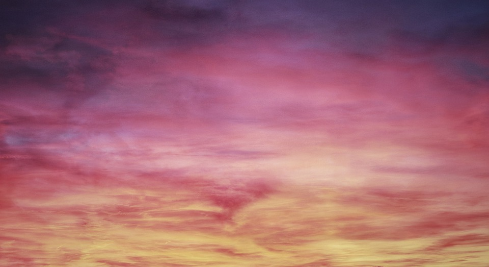 Sky, Clouds, Afterglow, Sunrise, Sunset, Color