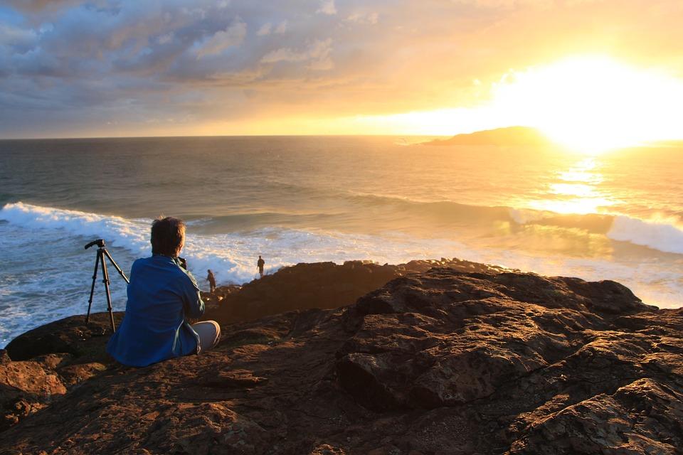 Sunrise, Fingal Heads, Fingal, Landscape, Coast