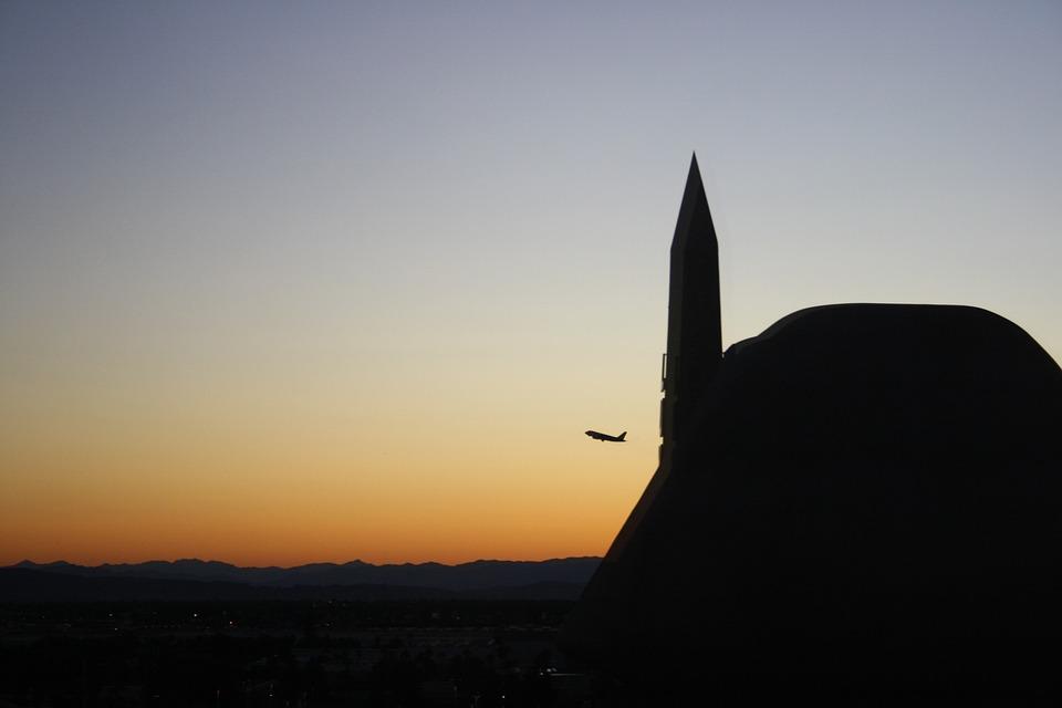 Las Vegas, Sunrise, Hotel Luxor