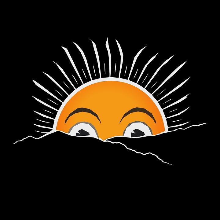 Sunshine, Sunlight, Sun, Icon, Sun Icon, Sunrise