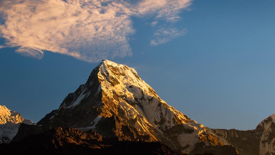 Mountain, Nature, Landscape, Scenic, Sunrise, Calm