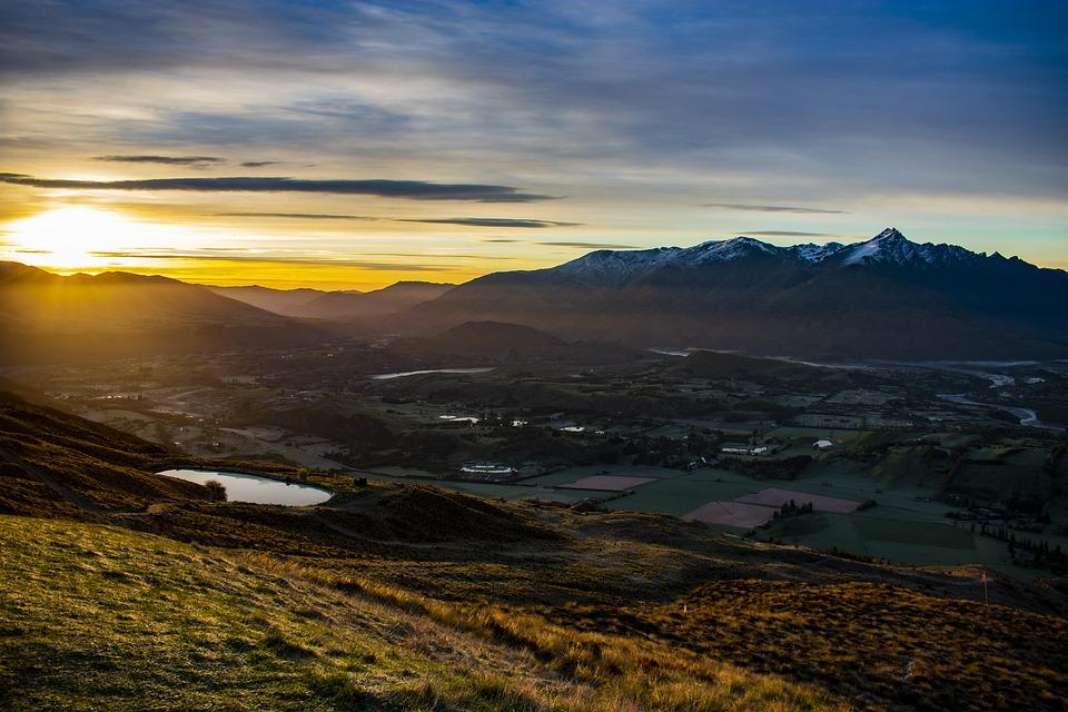 Early, Morning, Landscape, Sunrise, Nature, Mood, Dawn