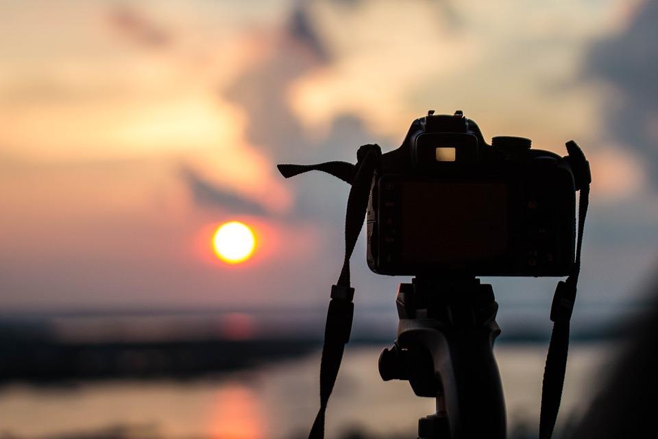 Camera, Photography, Morning, Sunrise, Water, Dslr