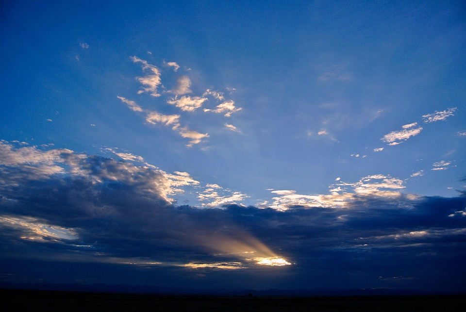 Arizona, Sunrise, Sky, Mountains, Landscape, Nature