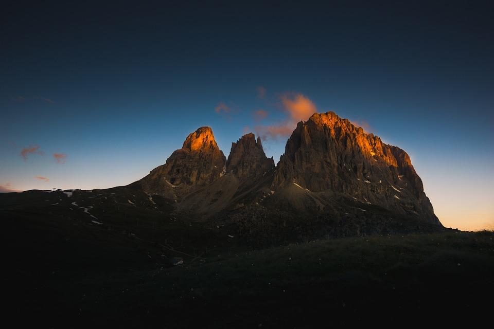 Dawn, Dusk, Landscape, Mountain, Nature, Sky, Sunrise