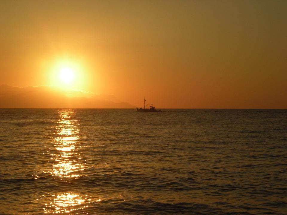 Santorini, Sunrise, Greek Island, Greece, Marine, Hair