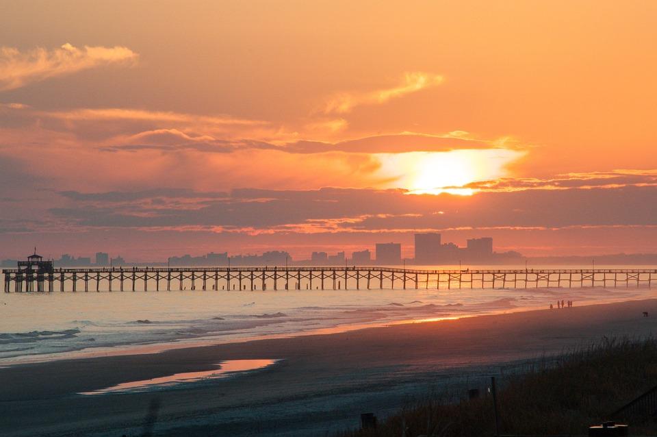 Sunset, Beach, Sea, Ocean, Sunrise, Water, Summer, Sky