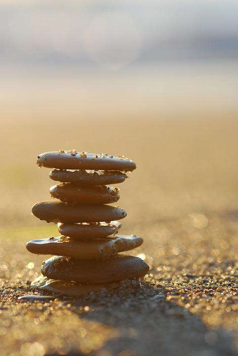 Sea, Stone, Beach, Sunrise, Seaside, Water, Pebble