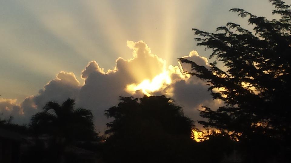 Sunrise, Amanecer, Clouds, Nubes, Nature, Sky