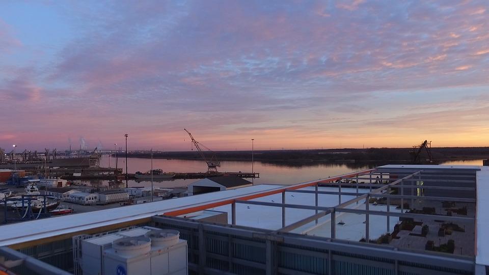 Skyline, Sunrise, Under Construction