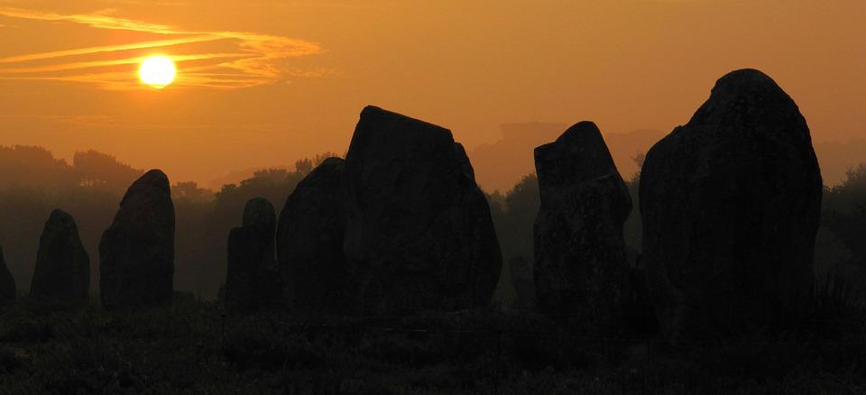 Stones, Sunrise, Sunset