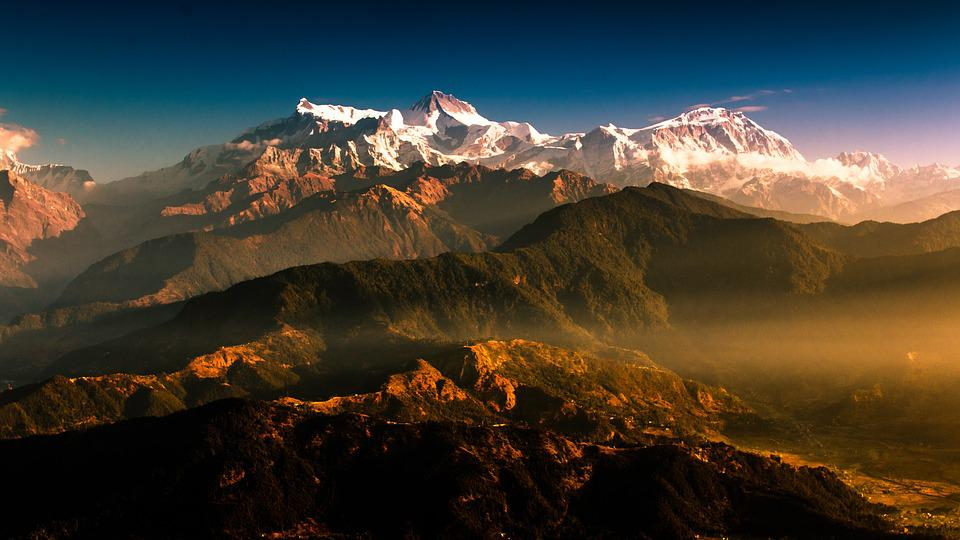 Mountain, Nepal, Travel, Nature, Outdoor, Sunrise
