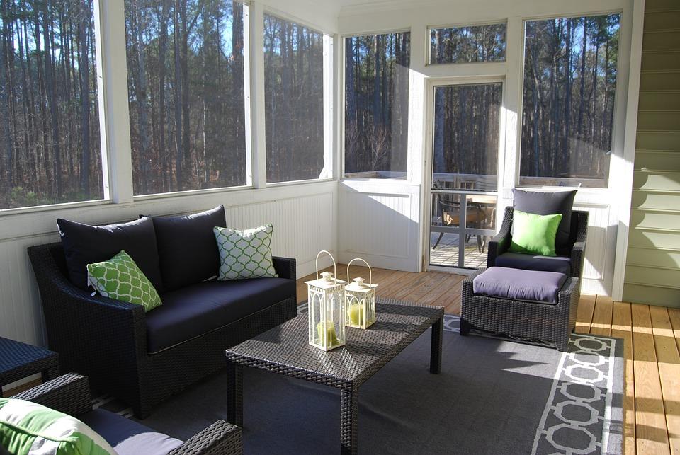 Porch, Sunroom, Indoors, Winter Garden