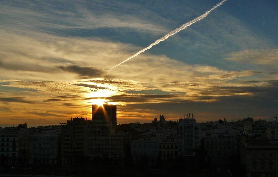 Sunset, Evening Sky, Afterglow, Nature, Clouds, Sky