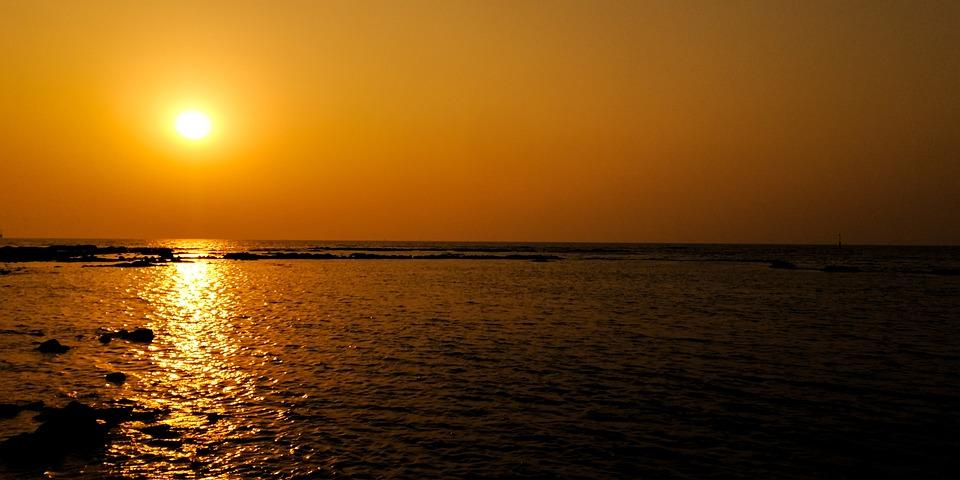 Free photo Sunset Background Nature Beach - Max Pixel