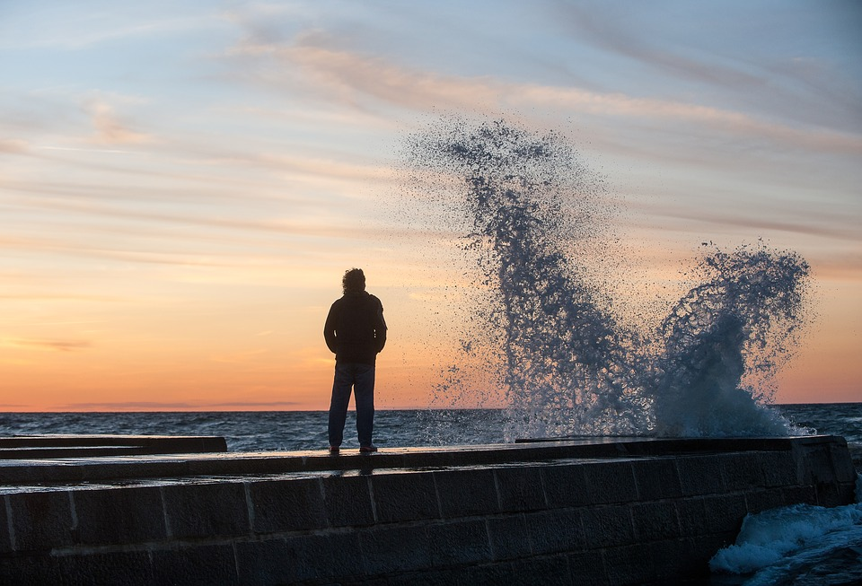 Baltic Sea, Sea, Coast, Beach, Sunset, Water, Nature