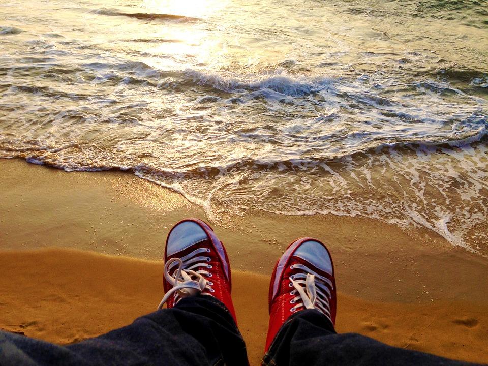 Beach, Sunset, Sunset Beach, Sand, Vacation, Travel