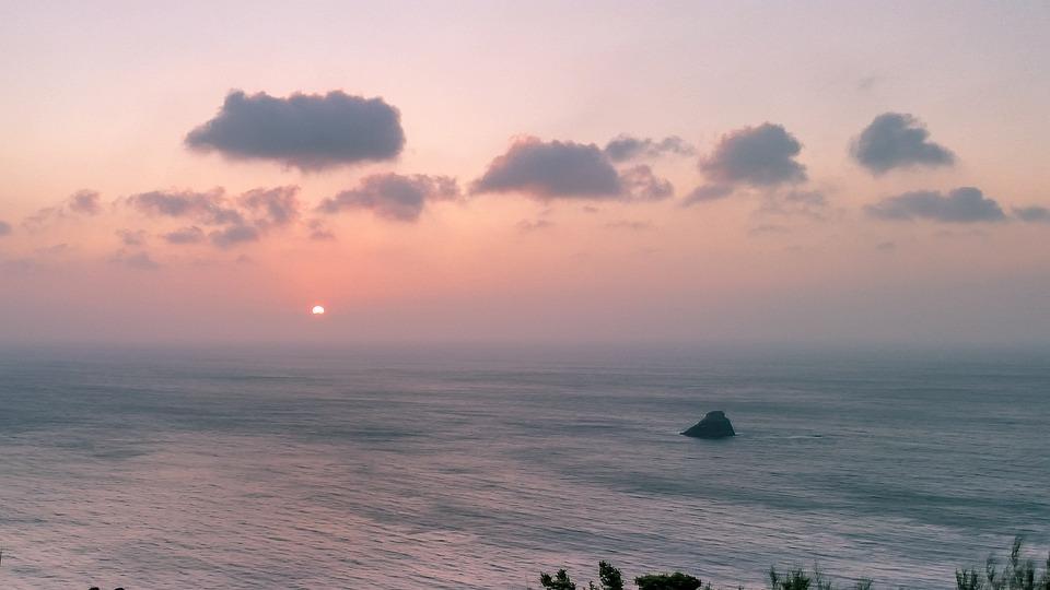 Sunset, Sea, Body Of Water, Dawn, Nature, Beach, Sun