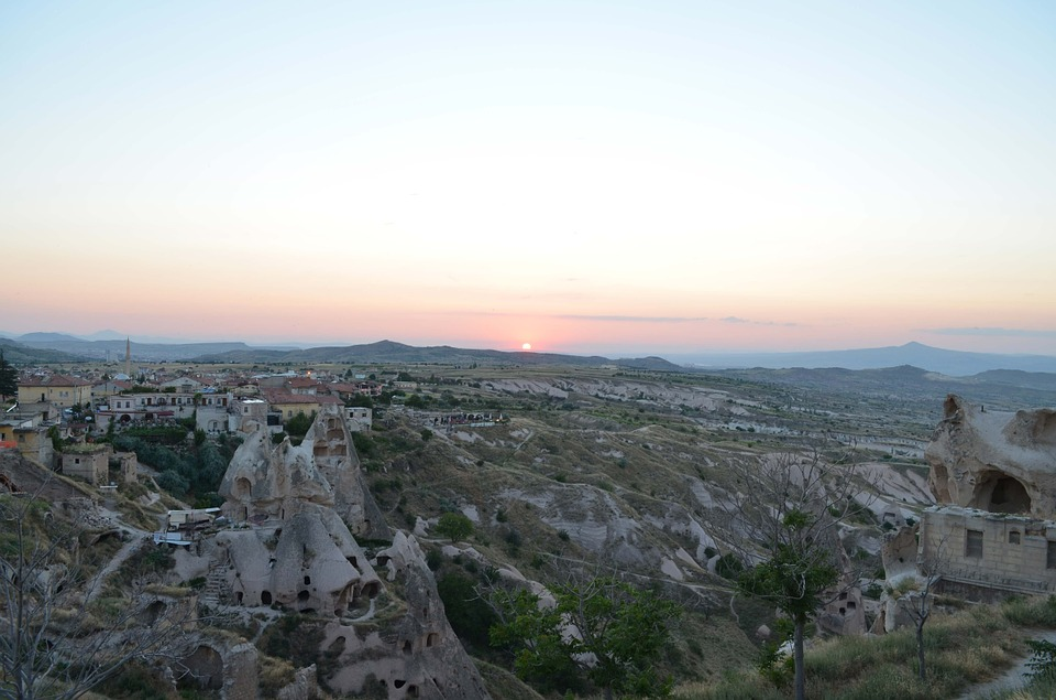 Cappadocia, Sunset, Nevsehir, Turkey