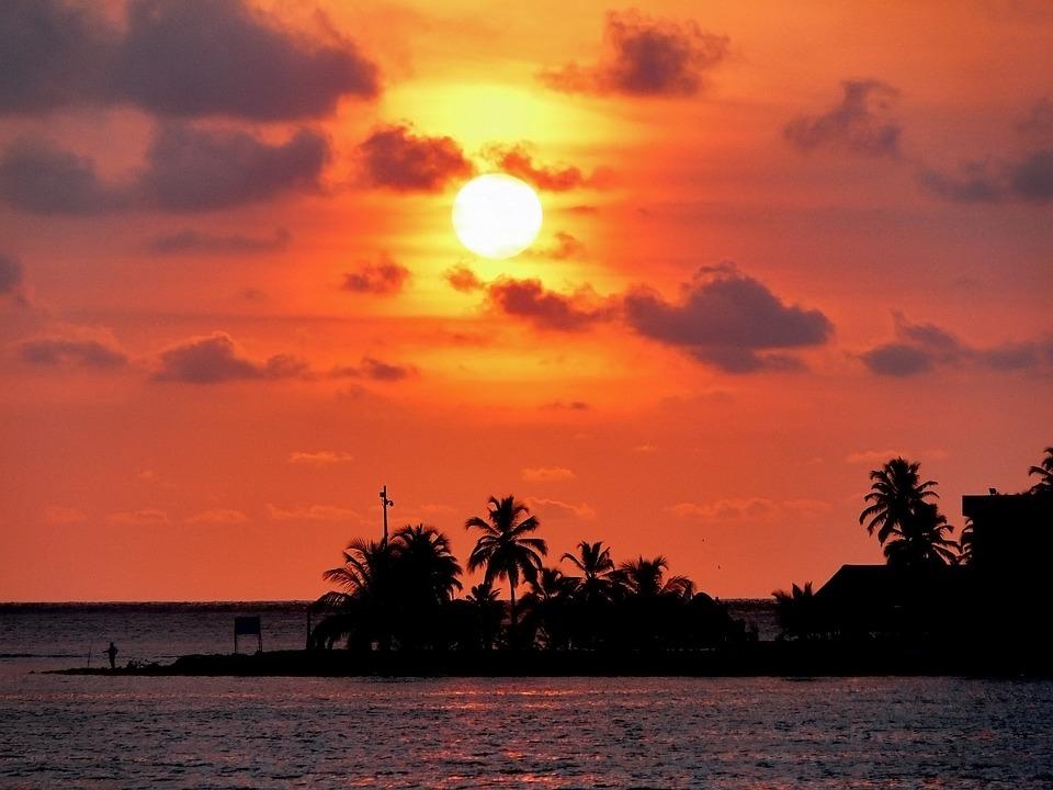 Cartagena De Indias, Sunset, Caribbean