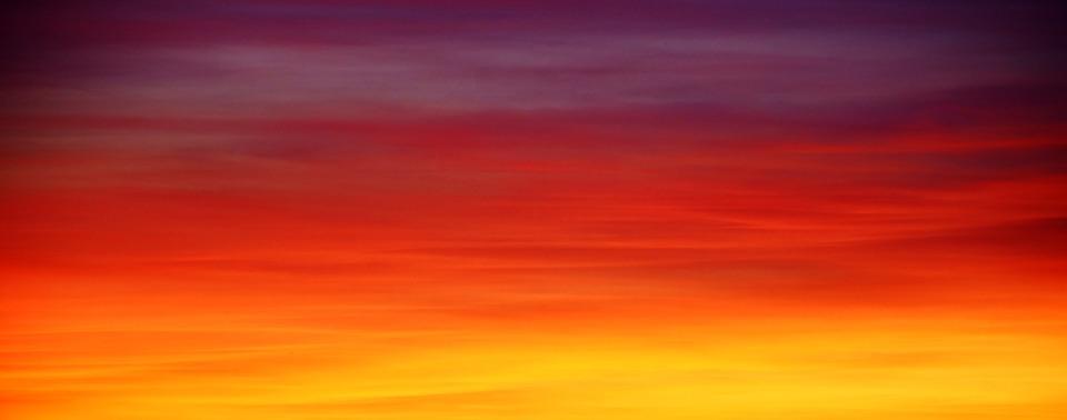 Background, Panorama, Sunset, Dawn, Dusk, Evening
