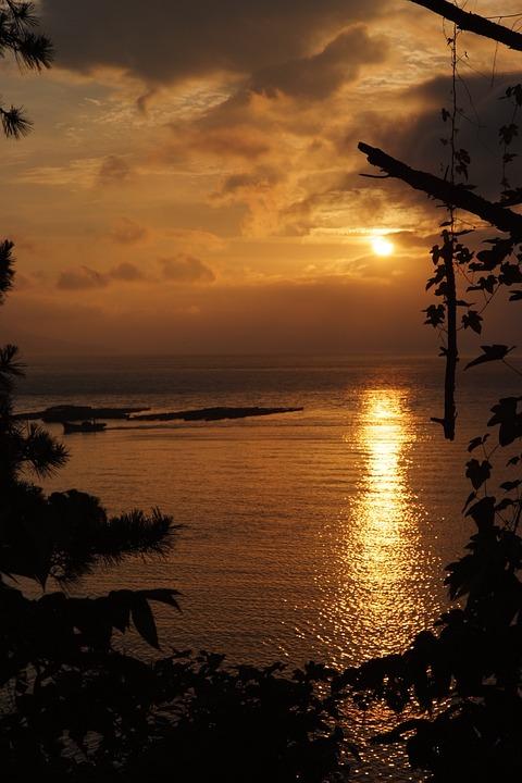 Sunset, Sunrise, Sunlight, Outdoor, Dawn, Dusk, Evening