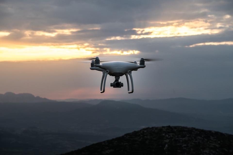 Dawn, Drone, Dusk, Mountains, Outdoors, Sunrise, Sunset