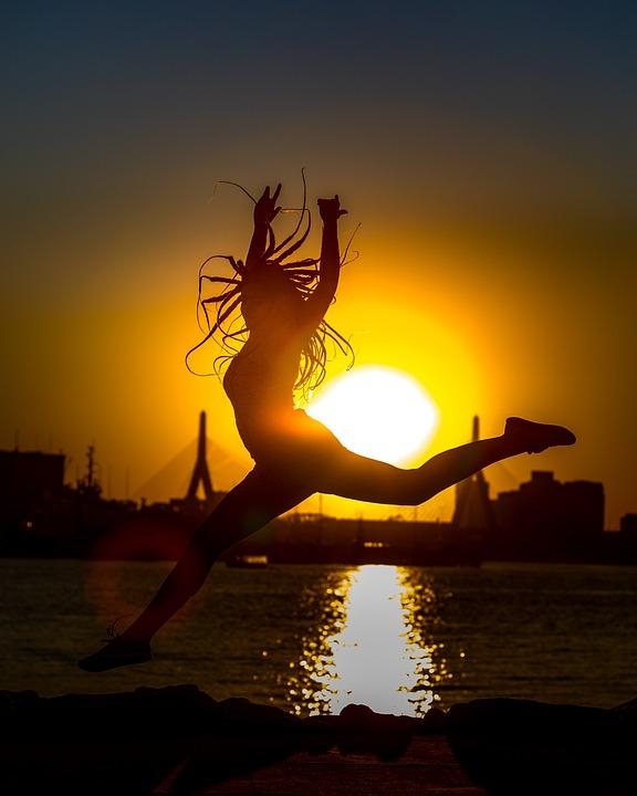 Sunset, Silhouette, Dawn, Dusk, Backlit, Evening, Sun
