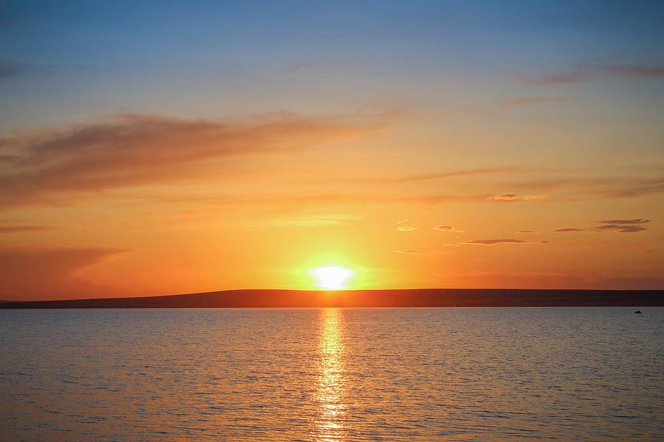 Evening, Sunset, Nature, Summer, Sea, Sunset Sky, Sun