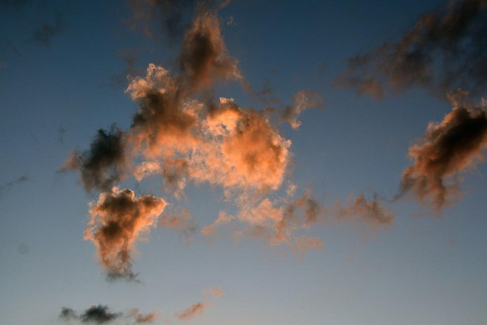 Cloud, Sky, Sunset, Clouds Form, Evening Sky, Landscape