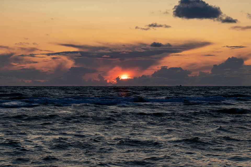 Sylt, Sunset, Sea, North Sea, Abendstimmung, Evening