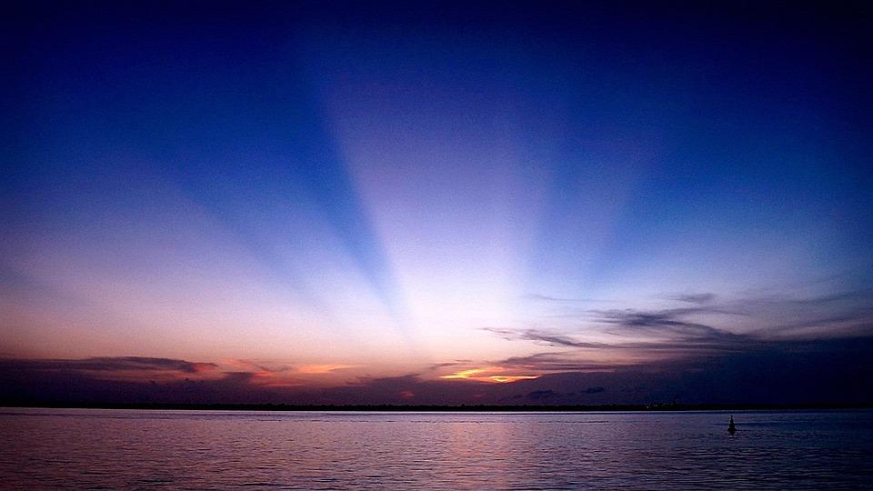 Guajará Bay, Bethlehem, Sunset