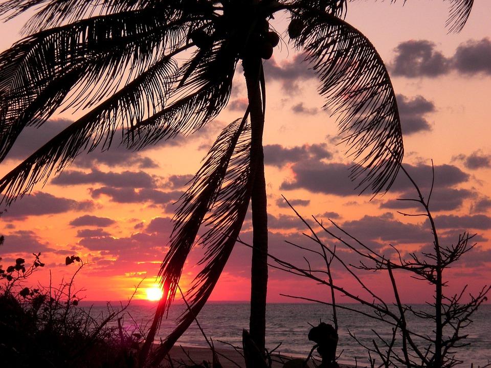 Holiday, Romance, Love, Honeymoon, Sunset, Sea, Water