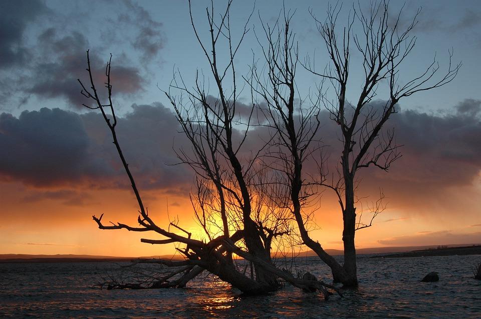 Sunset, Kızılırmak, Nature