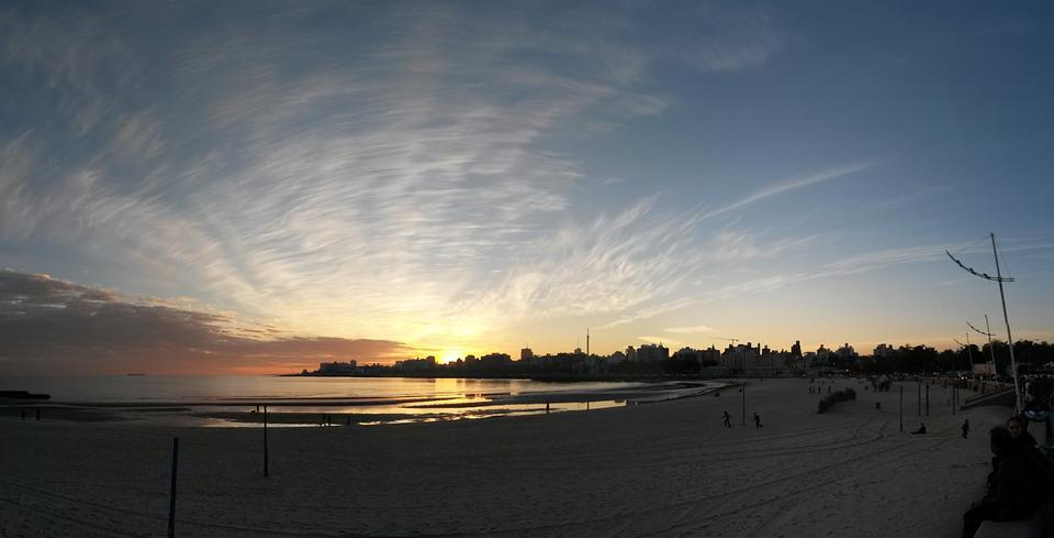 Uruguay, Sunset, Sky, Sun, America, Travel, Landscape
