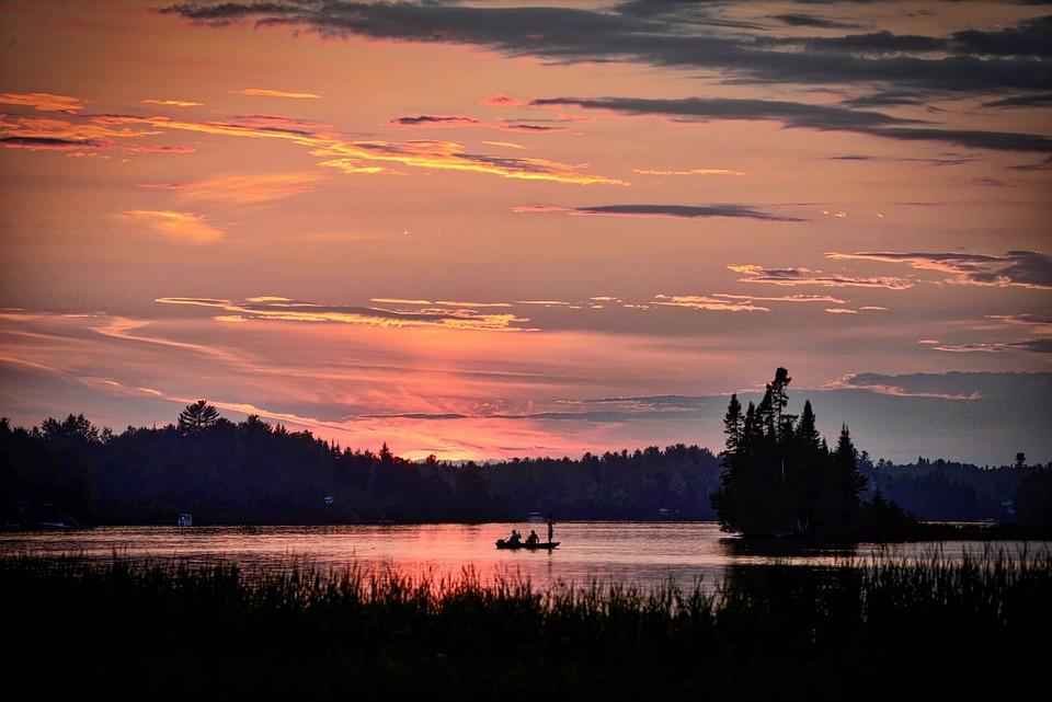 Landscape, Sunset, Twilight, Colors, Sky, Clouds