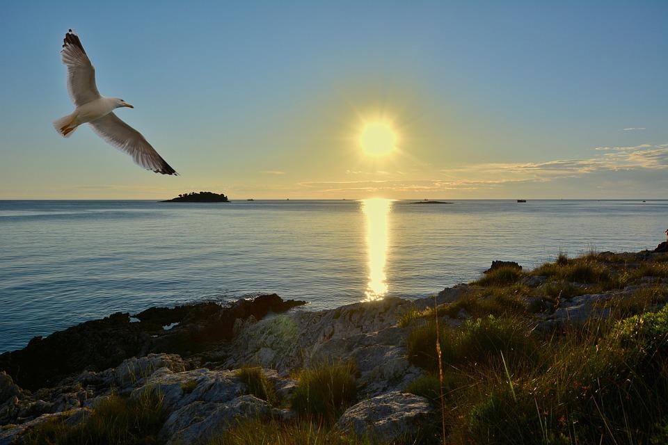 Vacations, Travel, Sunset, Sea, Summer, Landscape, Rest