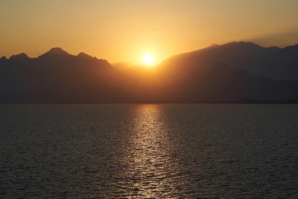 Landscape, Sunset, Solar, Sunrise, Nature, Twilight