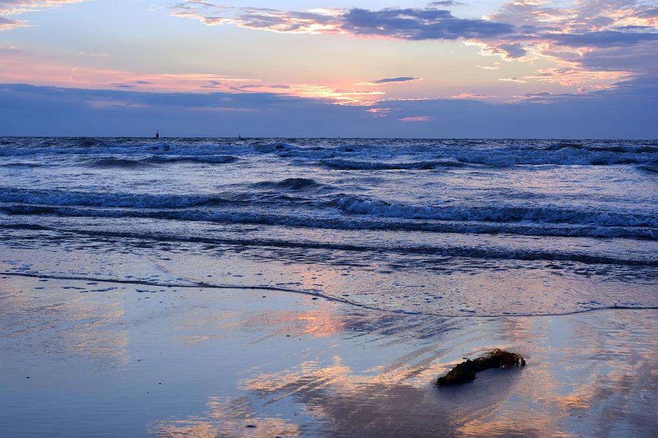 Body Of Water, Sea, Sunset, Nature