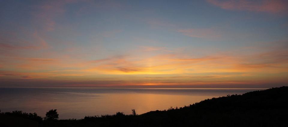 Sunset, Dawn, Nature, Sun