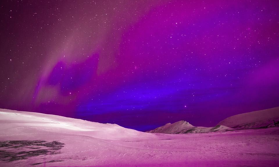 Night, Nature, Sky, Landscape, Sunset, Clouds, Space