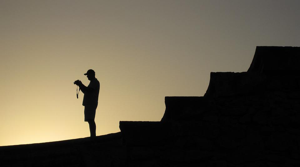 Sunset, Photographer, Leasure, Nostalgia