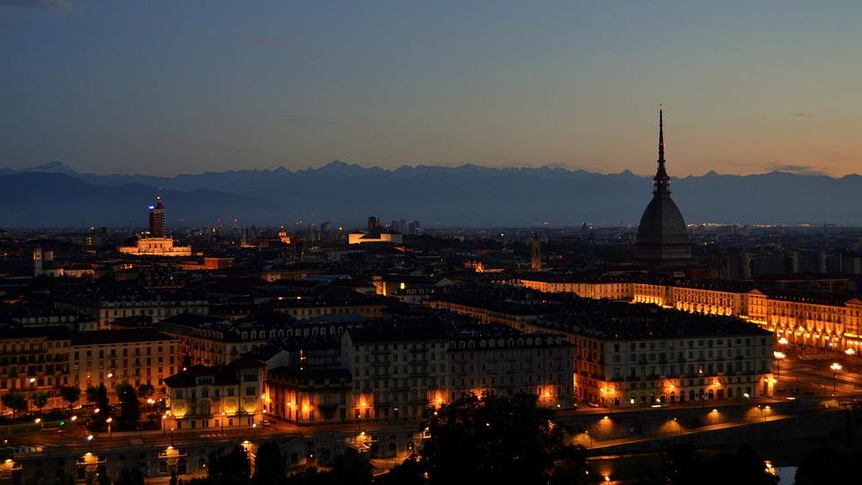 Panoramic, Big City, Travel, Sunset, Architecture