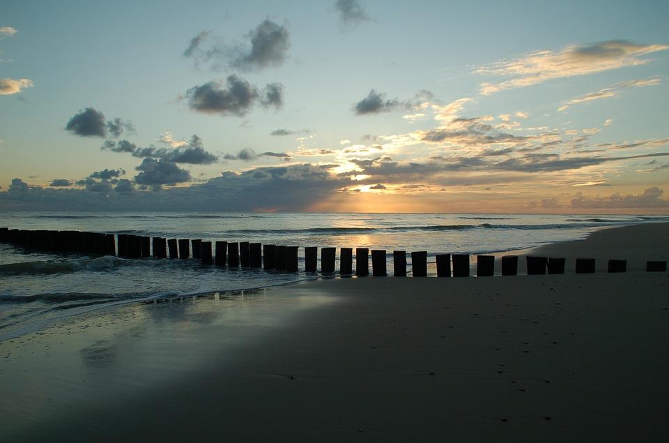 Sunset, Body Of Water, Dawn, Panoramic, Sea, Zealand