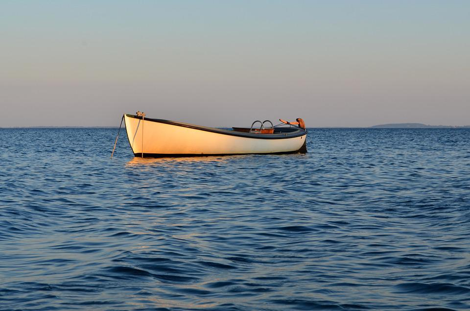 Boot, Sea, Water, Ship, Port, Sunset, Rowing, Beach