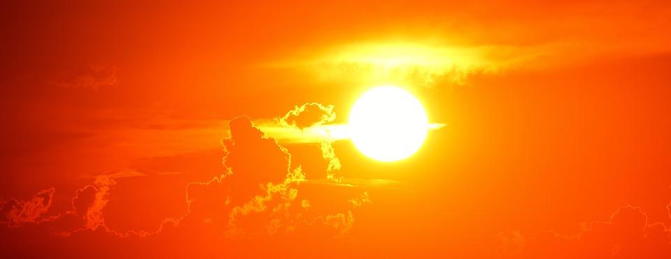 Sunset, Evening, Romantic, Sun, Afterglow, Dusk