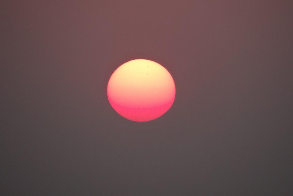 Sunset, Sea, Arabian, Gokarna, Karnataka, India, Sky