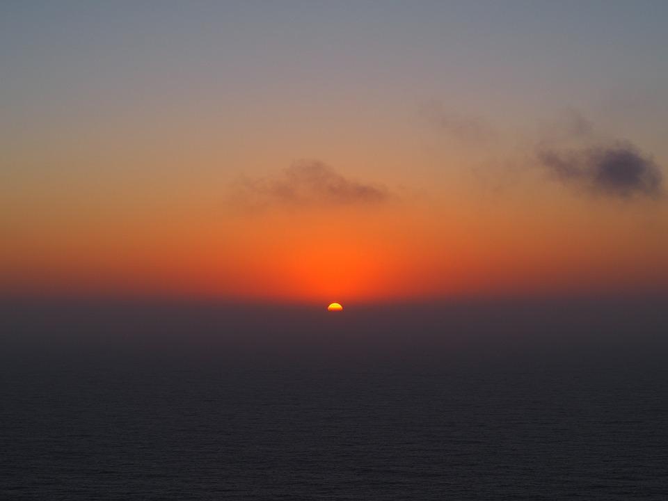Portugal, Lisbon, Landscape, Sea, Sunset, Cabo Da Roca