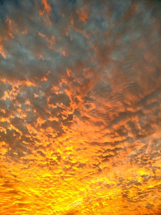 Sky, Sunset, Cloud