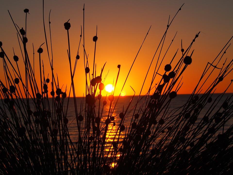 Sunset, West Beach, South Australia, Coast, Dusk